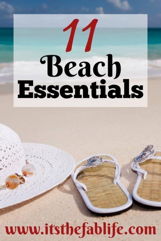 Top 11 Beach Essentials | Beach Essentials | Items You Need for the Beach | #beach #beachlife #beachessentials #travel #organization