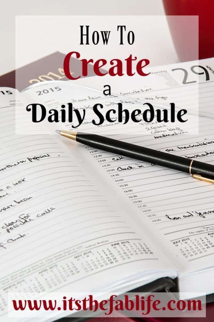 How to Create a Daily Schedule | Schedule Your Day | Weekly Schedule | #scheduling #dailyschedule #timemanagement #homemanagement #organization