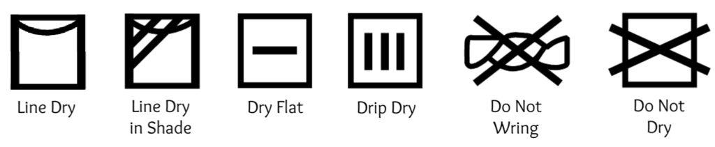 Laundry Symbols | Drying Clothes