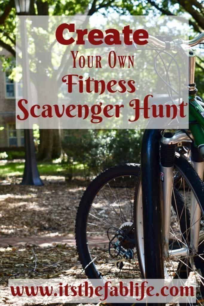 Fitness Scavenger Hunt | Create Your Own Fitness Scavenger Hunt | Fun Fitness Idea | #exercise #fitness #fitnessroutine #scavengerhunt